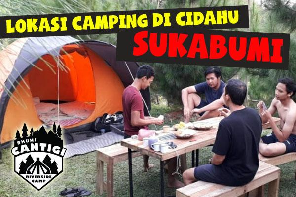 tempat camping di Cidahu