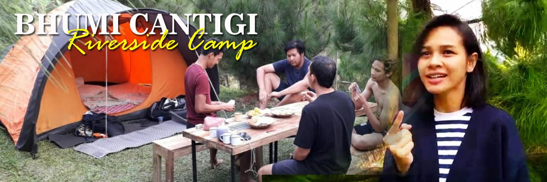 Camping di Bhumi Cantigi Camp Cidahu