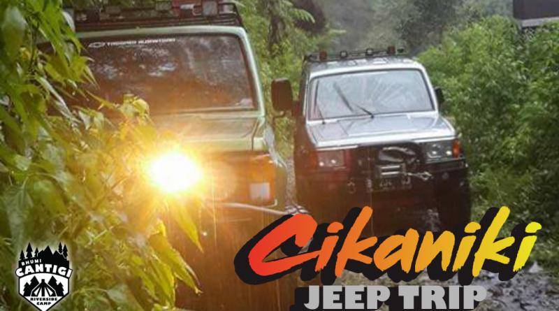 Wisata Jeep Cikaniki Halimun Salak