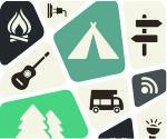 fasilitas camping mewah di Cidahu