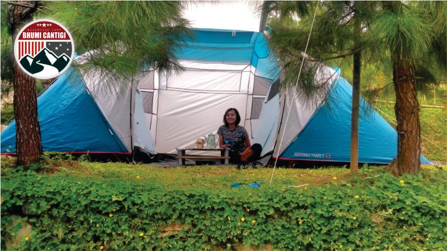 tenda camping di cidahu sukabumi