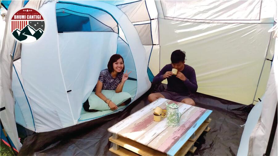camping mewah di cidahu