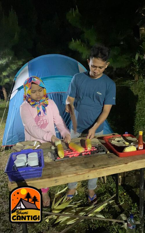 Camping seru di bhumi cantigi, camping di cidahu, perkemahan keluarga